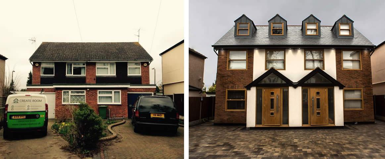 Loft conversion in Essex